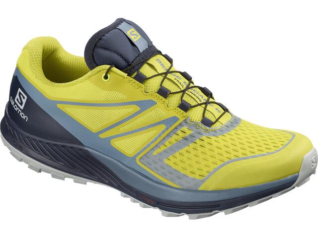 Salomon Sense Escape 2 Buty do biegania Mężczyźni żółty/szary
